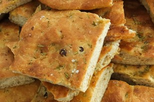 Fig and Rosemary Focaccia