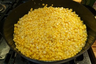 corn off the cob, ready to boil