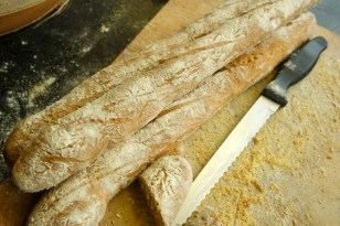 Fresh baguettes and butter - what's better?