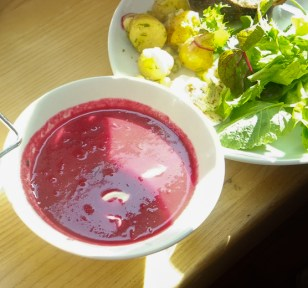 Beetroot & Cabbage Borscht