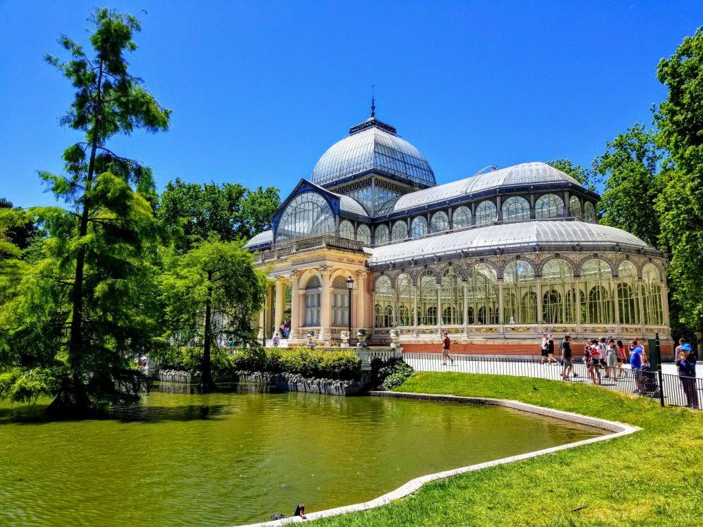 Palacio de Cristal_El Retiro Park Madrid