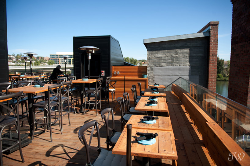 rooftop patio at Charbar captured by Tara Whittaker Photography