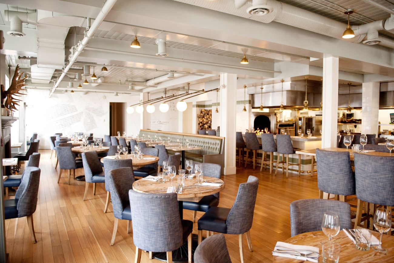 Main dining room at The Nash in Calgary captured by Tara Whittaker Photography