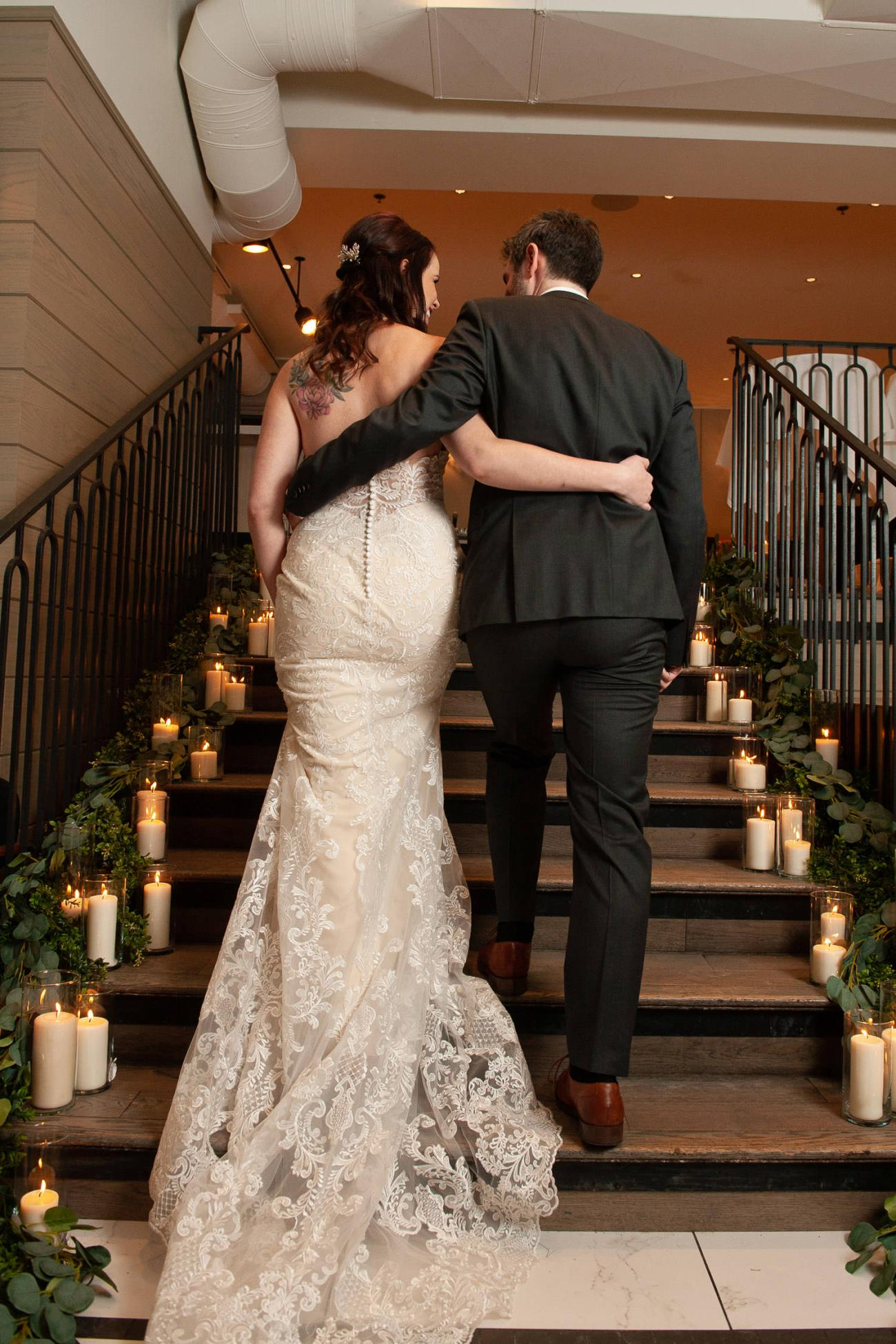 Winter wedding at Alforno in Calgary captured by Tara Whittaker Photography