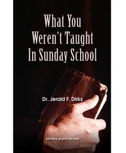 what you weren't taught in sunday school
