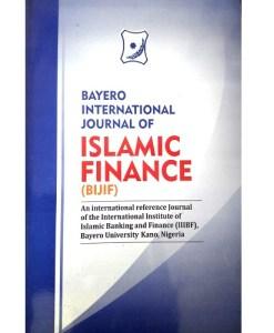 Bayero International Journal of Islamic Finance