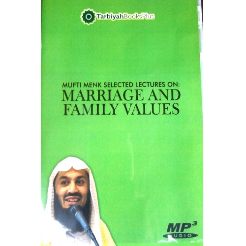 Marriage and Family Values A Lecture by Mufti Menk (Audio CD)