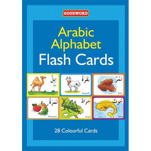 Goodword Arabic Alphabet Flash Cards