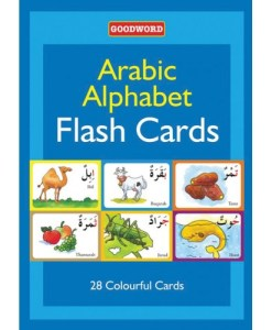 Goodword Arabic Alphabet Flash Cards