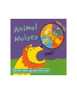 Animal Noises Copy Cats Spinner Book