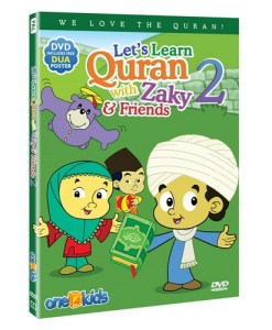 Let's Learn Quran with Zaky & Friends (DVD)