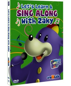 Let's Learn And Sing Along With Zaky DVD