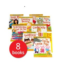 Reading Together: Fairy Tale Phonics Collection plus Poster - 8 Books (Collection)