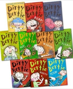 Dirty Bertie Collection David Roberts 10 Books Set Pack