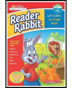 Reader Rabbit Let's Learn First Grade Math