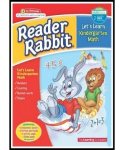 Reader Rabbit Let's Learn Kindergarten Math