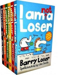 Barry Loser 6 books collection by Jim