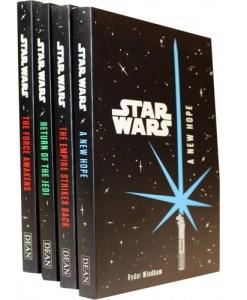 Star Wars 4 Books Set Junior Novel Collection