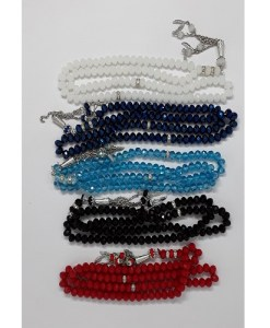 Crystal Prayer Beads/Tasbih in Count of 99
