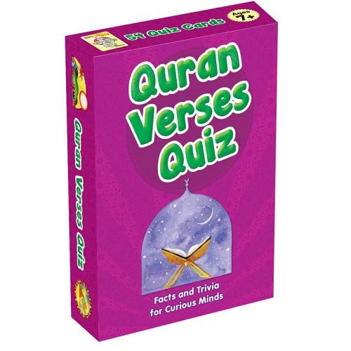Quran Verses Quiz Cards [Pocket Size]