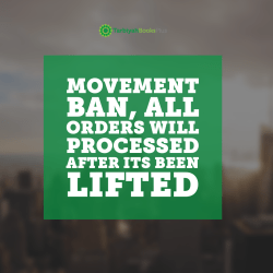 Abuja movement ban, all orders processed after