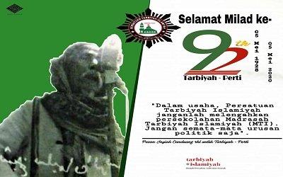Milad Persatuan Tarbiyah Islamiyah (PERTI): Mengingat Kembali Jalan Keilmuan Kita
