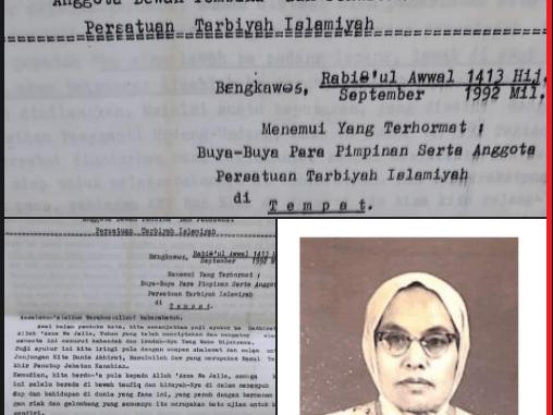 Ummi Hajjah Syamsiyah Abbas dan Tradisi Korespondensi Tokoh Wanita Tarbiyah