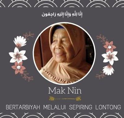 Mak Nin, Bertarbiyah Melalui Sepiring Lontong