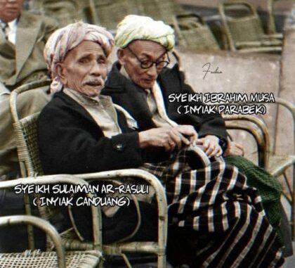 Sambutan Syekh Sulaiman Arrasuli (Ketua Umum Majelis Ulama Sumatera) pada Malam Pembukaan Muktamar Ulama se-Indonesia di Palembang, 8 - 11 September 1957