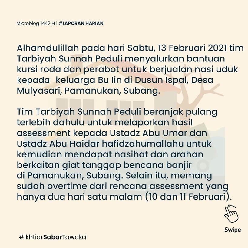 laporan-harian-13-februari-2021-giat-tanggap-bencana-banjir-pamanukan-subang-4