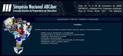 III Simpósio Nacional ABCiber_trabalhos
