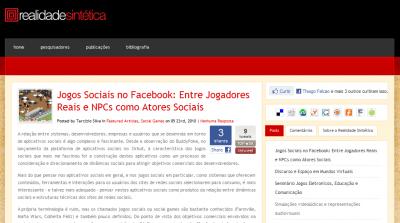 Realidade Sintética » Blog Archive » Jogos Sociais no Facebook- Entre Jogadores Reais e NPCs como Atores Sociais_1274706118801
