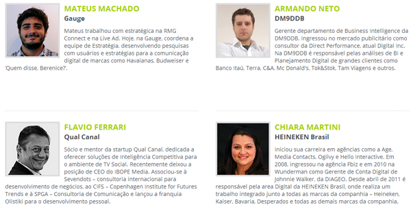 social analytics summit - palestrantes 2