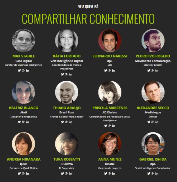 social analytics summit - palestrantes