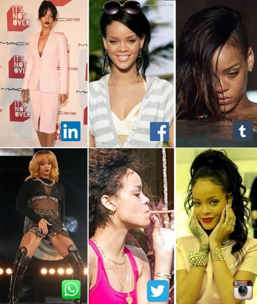 Rihanna Mídias Sociais - D1V4s