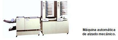 máquina de alzado