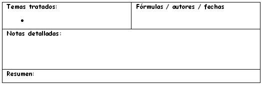 para datos específicos: fórmulas, fechas, etc.