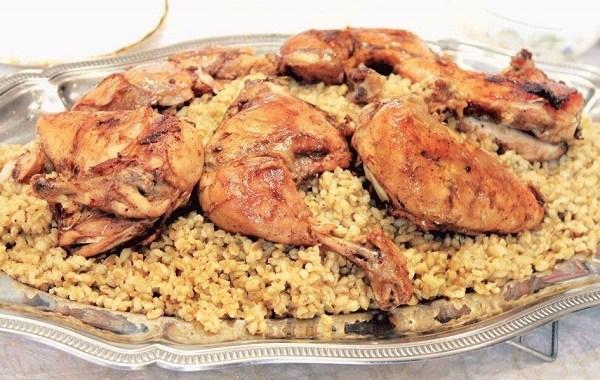 طريقة عمل الفريكة بالدجاج على الطريقة السورية