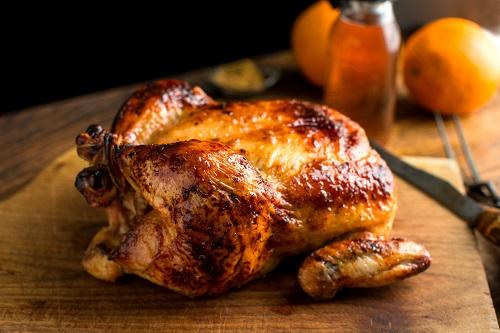 دجاج مشوي بالعسل طريقة مميزة