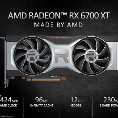 AMD to Supply Only a Few Thousand Radeon RX 6700 XT GPUs for Europe at Launch