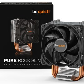 be quiet! Announces Pure Rock Slim 2 CPU Cooler and MC1 Series M.2 SSD Heatsinks