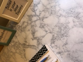Close up on marble