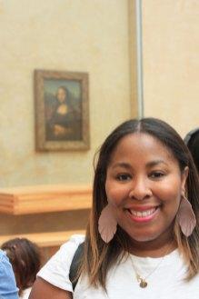 Mona Lisa #TarenUpEurope Louvre Paris