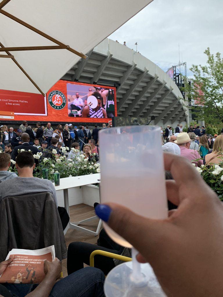 French Open Paris France Roland Garros Rose Taren Tooten Serena Williams
