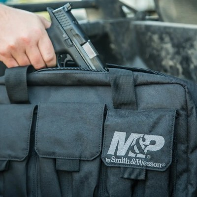 Mochila de transporte armas Smith and Wesson (3 armas cortas)