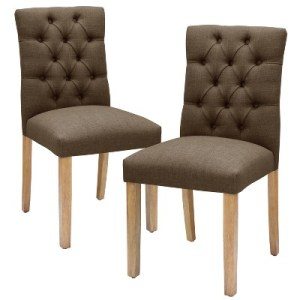 Dining Chairs   Benches   Target Brookline Tufted Dining Chair   Threshold