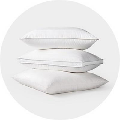 brookstone bed pillows target