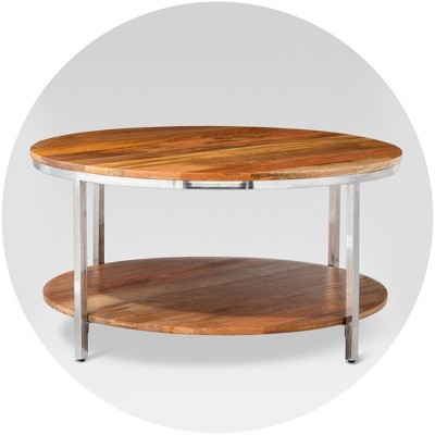 off white coffee tables target
