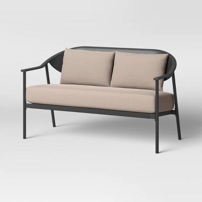 dekker patio loveseat with lumbar back cushion project 62