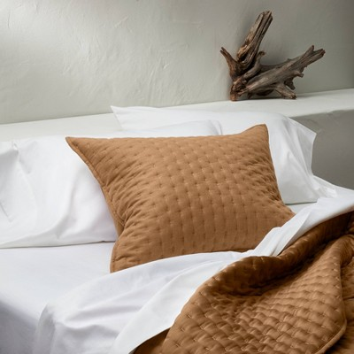 brown pillow shams target